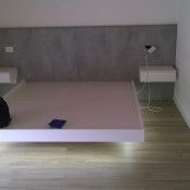 letto matrimoniale Floating bed